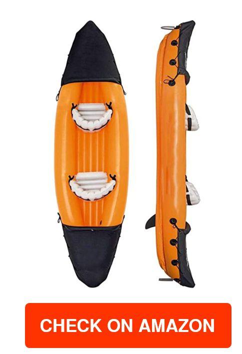 DIVTEK 2 Person Inflatable Kayak