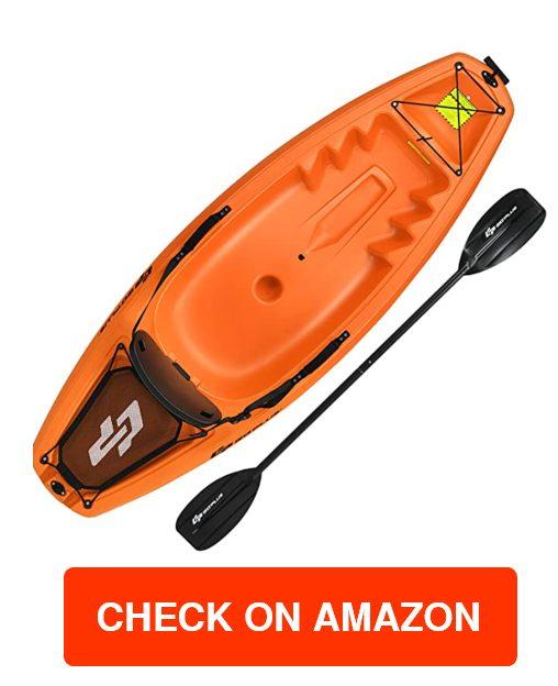 Goplus 6FT Youth Recreational Kayak