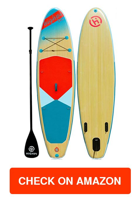 Highpi Inflatable Stand Up Paddle Board