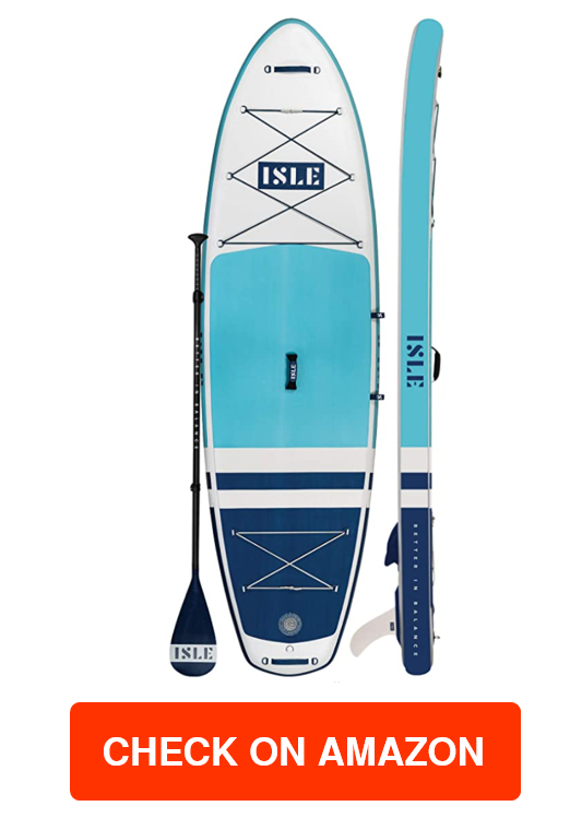 ISLE Pioneer Inflatable Stand Up Paddle Board