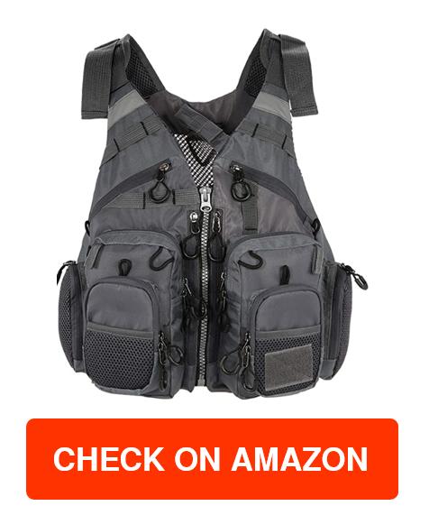 JKSPORTS Fly Fishing Vest