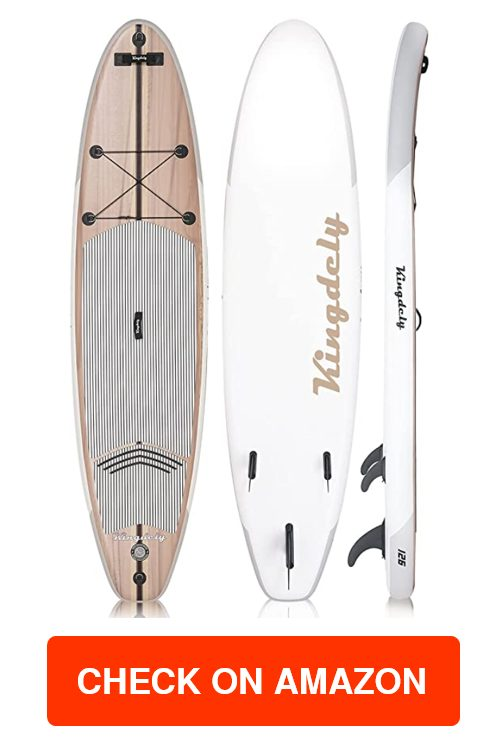 Kingdely Inflatable Stand Up Paddle Board