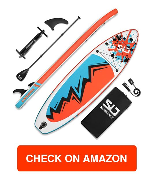 Swonder Inflatable Stand Up Paddleboard