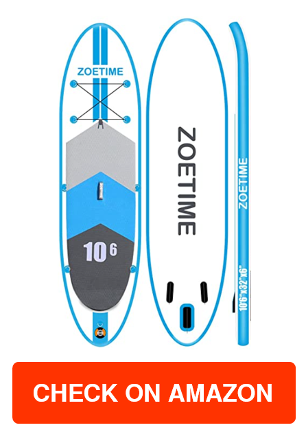 Zoetime Inflatable Stand Up Paddle Board